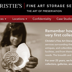Christies Fine Art Storage Services