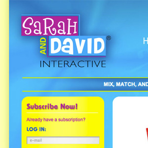 Savid and David Website